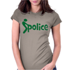 Fuck Police Womens Fitted T-Shirt