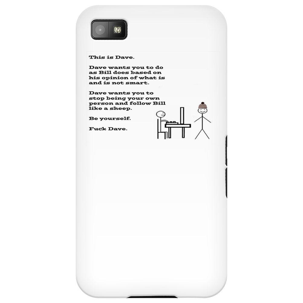 #fuckdave Phone Case