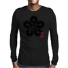 FUKKUOKA Japanese Prefecture Design Mens Long Sleeve T-Shirt
