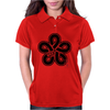 FUKKUOKA Japanese Prefecture Design Womens Polo