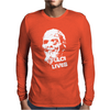 Fulci Lives Zombie Mens Long Sleeve T-Shirt