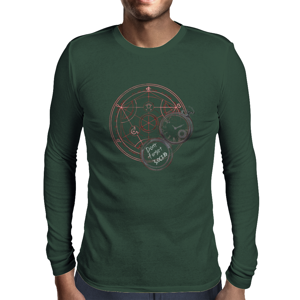 Full metal 3 Oct Mens Long Sleeve T-Shirt