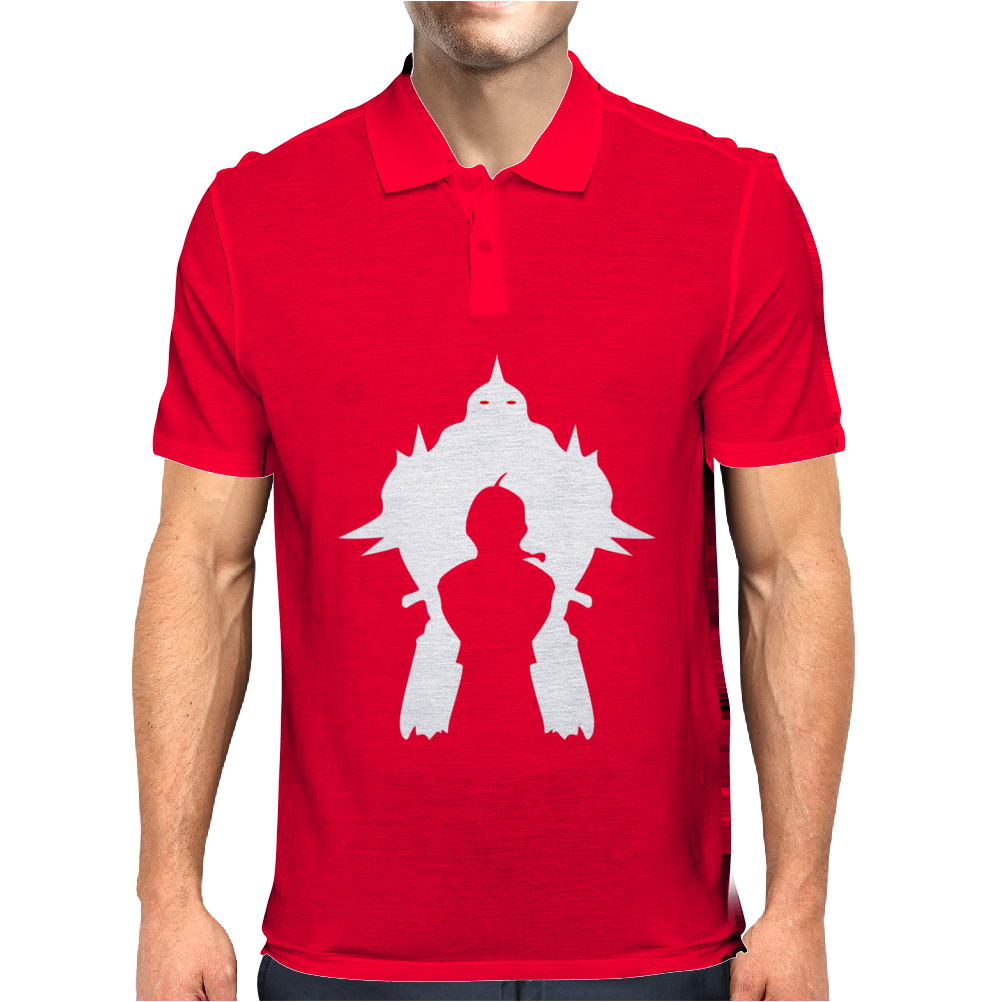 Full Metal Alchemist Cult Classic Anime Mens Polo