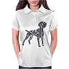 Fun Artistic Weimaraner Dog Art Womens Polo