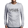 Fun Wine Mens Long Sleeve T-Shirt