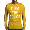 Funk Teh Police Funny Mens Long Sleeve T-Shirt