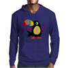 Funky Colorful Toucan Bird Original Art Mens Hoodie