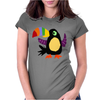 Funky Colorful Toucan Bird Original Art Womens Fitted T-Shirt