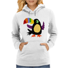 Funky Colorful Toucan Bird Original Art Womens Hoodie