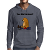 Funky Funny Brown Bear that Ate the Hiker Mens Hoodie