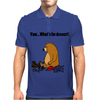 Funky Funny Brown Bear that Ate the Hiker Mens Polo