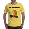 Funky Funny Brown Bear that Ate the Hiker Mens T-Shirt