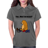 Funky Funny Brown Bear that Ate the Hiker Womens Polo