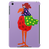 Funky Funny Colorful Rooster Original Art Tablet