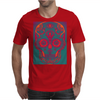 Funky Sugar Skull Mens T-Shirt