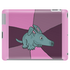 Funny Aardvark with Purple Background Tablet (horizontal)