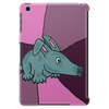 Funny Aardvark with Purple Background Tablet (vertical)