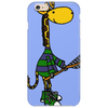 Funny Awesome Giraffe Playing Lacrosse Phone Case