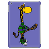 Funny Awesome Giraffe Playing Lacrosse Tablet