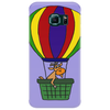 Funny Awesome Goat in Hot Air Balloon Phone Case