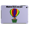 Funny Awesome Goat in Hot Air Balloon Tablet