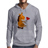 Funny Awesome Horse Drinking Red Wine Art Mens Hoodie