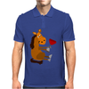 Funny Awesome Horse Drinking Red Wine Art Mens Polo