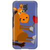 Funny Awesome Horse Drinking Red Wine Art Phone Case