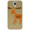 Funny Awesome Moose Primitive Art Phone Case
