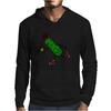 Funny Awesome Pickle Playing Tennis Mens Hoodie
