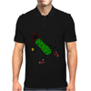 Funny Awesome Pickle Playing Tennis Mens Polo