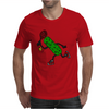 Funny Awesome Pickle Playing Tennis Mens T-Shirt