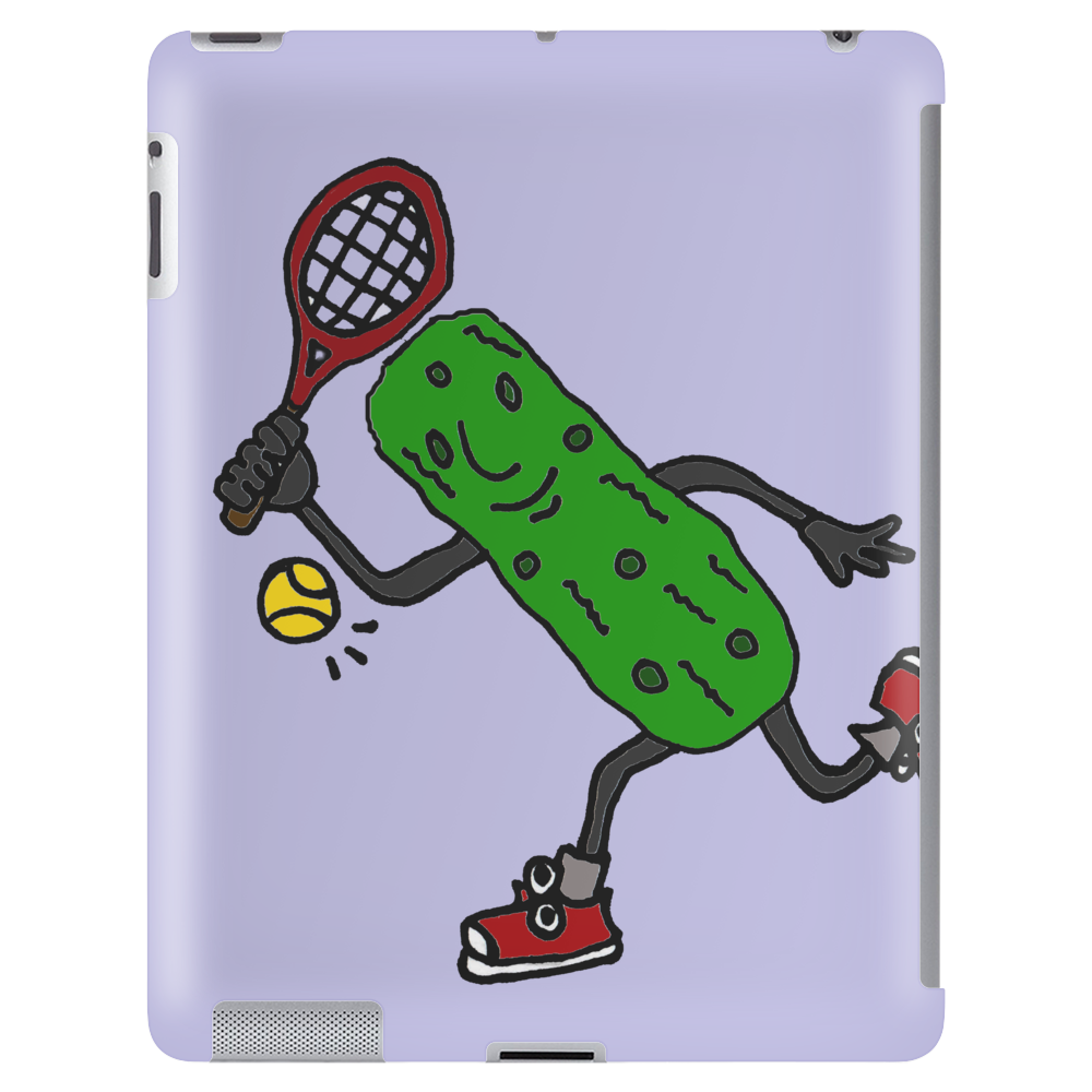 Funny Awesome Pickle Playing Tennis Tablet