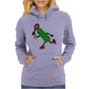 Funny Awesome Pickle Playing Tennis Womens Hoodie