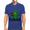 Funny Awesome Pickleball Pickle Monster Mens Polo