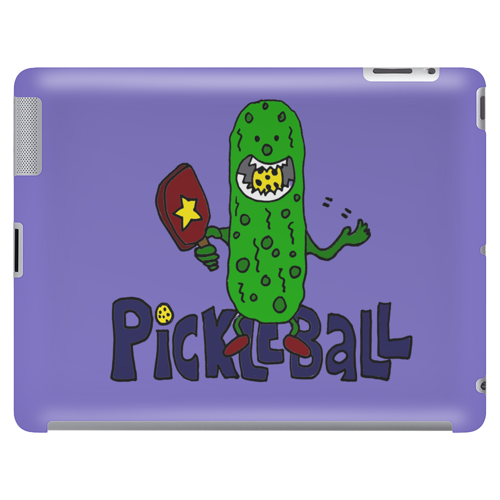 Funny Awesome Pickleball Pickle Monster Tablet