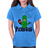 Funny Awesome Pickleball Pickle Monster Womens Polo