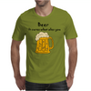 Funny Beer Cures What Ales You Cartoon Mens T-Shirt