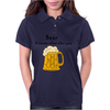 Funny Beer Cures What Ales You Cartoon Womens Polo