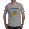 Funny Beer Mug Cartoon Mens T-Shirt