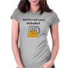 Funny Beer Mug Cartoon Womens Fitted T-Shirt