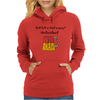 Funny Beer Mug Cartoon Womens Hoodie