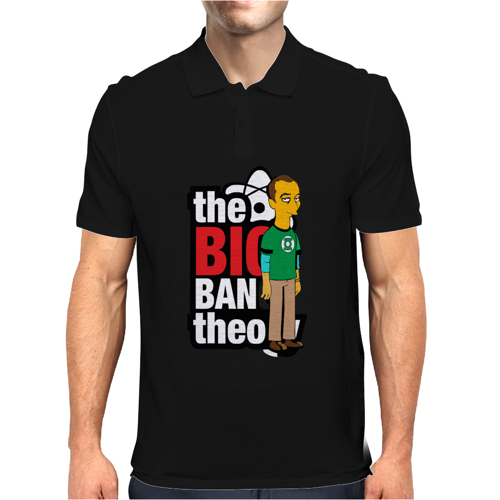 Funny Big Bang Theory Sheldon, Ideal Gift or Birthday Present. Mens Polo