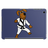 Funny Brown Dog Doing Karate Tablet