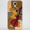 Funny Brown Puppy Dog Playing the Cello Phone Case