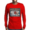 Funny Busted Knuckle Garage, Ideal Gift Or Birthday Present. Mens Long Sleeve T-Shirt