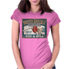 Funny Busted Knuckle Garage, Ideal Gift Or Birthday Present. Womens Fitted T-Shirt