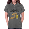 Funny Camel Drinking Beer Cartoon Womens Polo