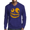 Funny Crazy Monster Face Mens Hoodie