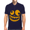 Funny Crazy Monster Face Mens Polo